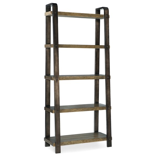 Crafted Ladder Bookcase By Hooker Furniture