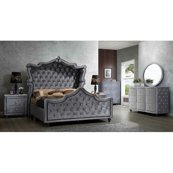 Grant Panel Configurable Bedroom Set by Rosdorf Park