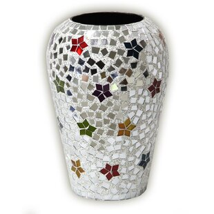 Boho Chic Rainbow Star Rhapsody Metal Table Vase