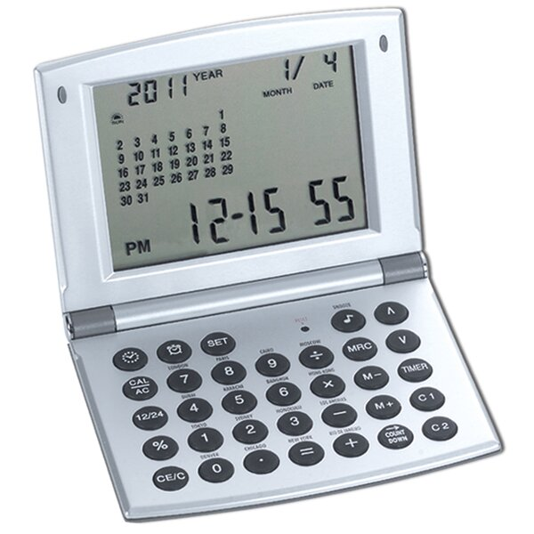 Alarm Clock and Calculator by Natico