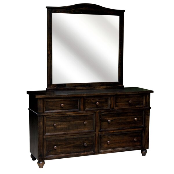 Desaree Arched Dresser Mirror by Darby Home Co