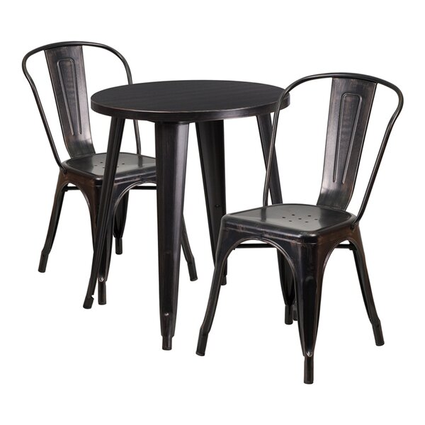 Lucy 5 Piece Bar Height Dining Set by Williston Forge
