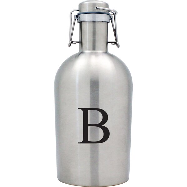 Personalized 64 oz. Growler by Susquehanna Glass