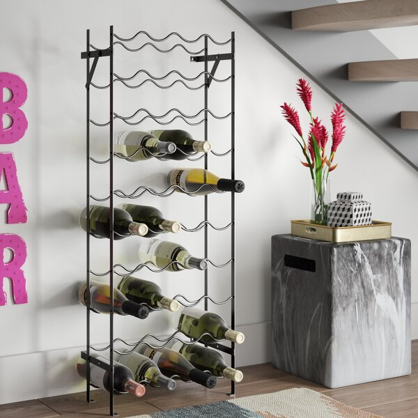 Lyall 40 Bottle Floor Wine Rack by Brayden Studio