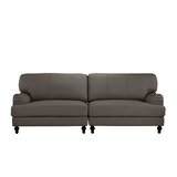 Boell Convertible 2 Piece Leather Sofa by House of Hampton®