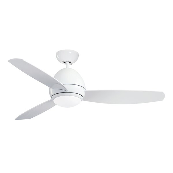 52 Imler 3 Blade Outdoor LED Ceiling Fan by Charlton Home