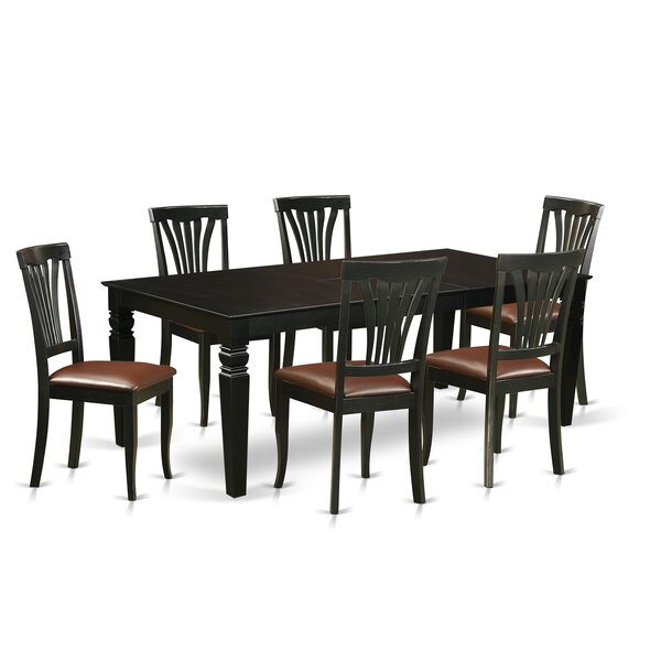 Appalachian 7 Piece Dining Set by Darby Home Co