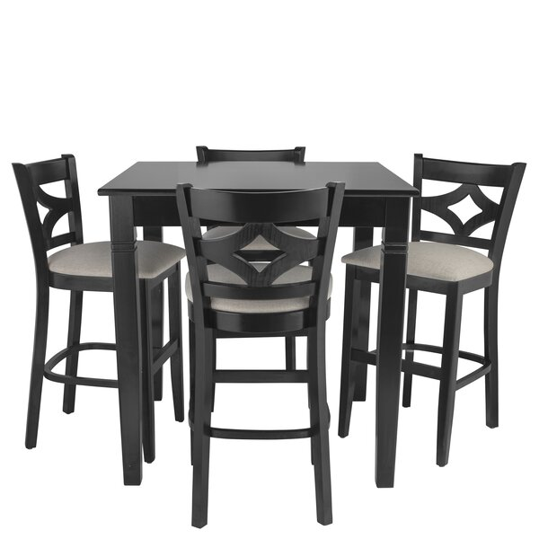 Weisman 5 Piece Pub Table Set by Red Barrel Studio