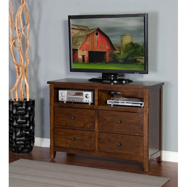 Goldfield 4 Drawer Media Chest by Loon Peak