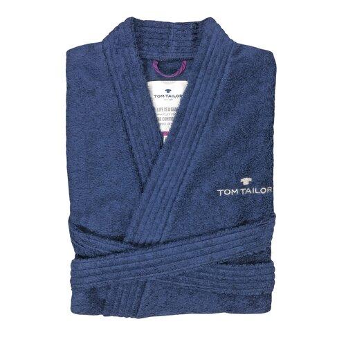 Bademantel Kimono Tom Tailor Farbe: Marine| Größe: XXL | Bad > Sauna & Zubehör > Sauna-Textilien | Tom Tailor