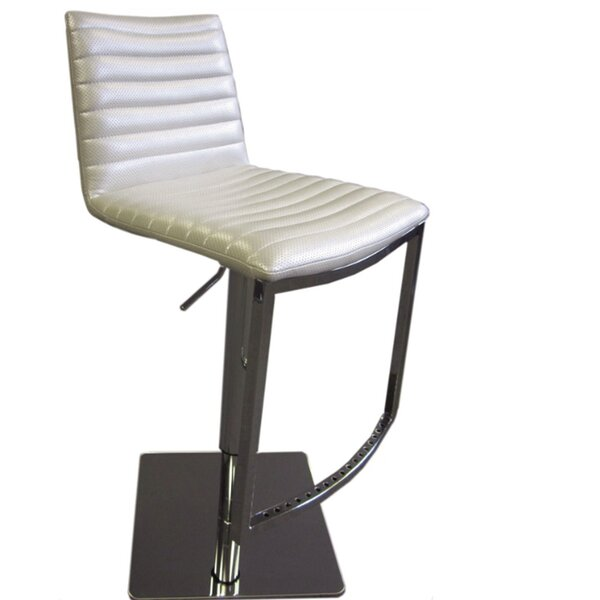 London Adjustable Height Swivel Bar Stool By Bellini Modern Living