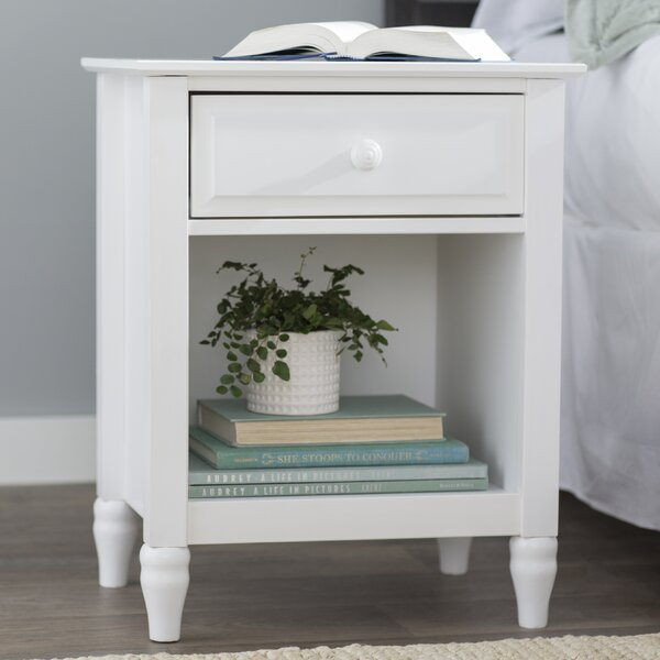 Gaillarde Solid Wood End Table With Storage By Winston Porter