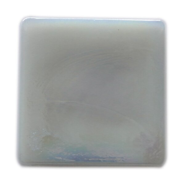 Atmosphere 2 x 2 Glass Mosaic Tile in White by Abolos