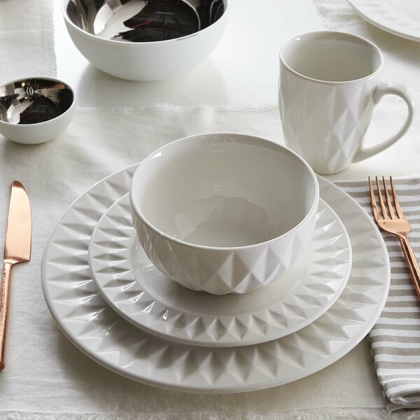 Barons 16 Piece Dinnerware Set, Service for 4 by Langley Street