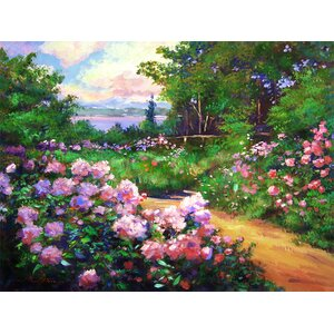 Floral Pathway II Painting Print on Wrapped Canvas by PTM Images