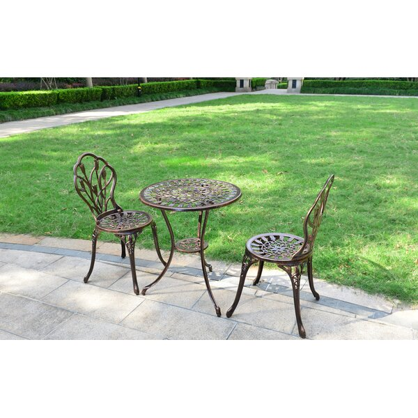 Mokvist 3 Piece Bistro Set By Charlton Home