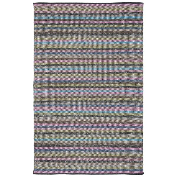Sasser Hand-Woven Gray Area Rug by Harriet Bee