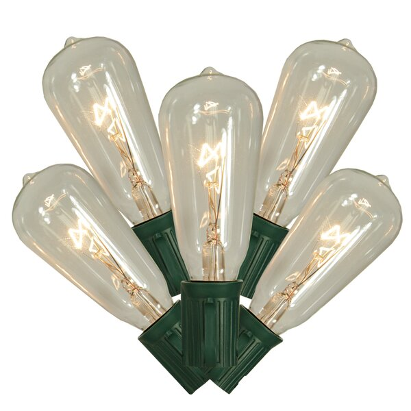 10 Edison Christmas Light by Vickerman