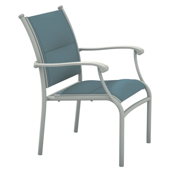 Sorrento Stacking Patio Dining Chair by Tropitone