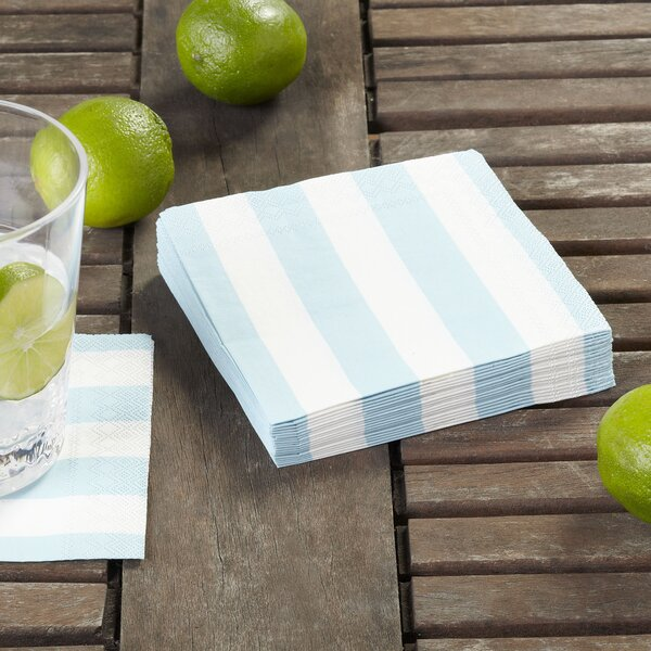 Striped Cocktail Napkins (Set of 36) by Birch Lane™