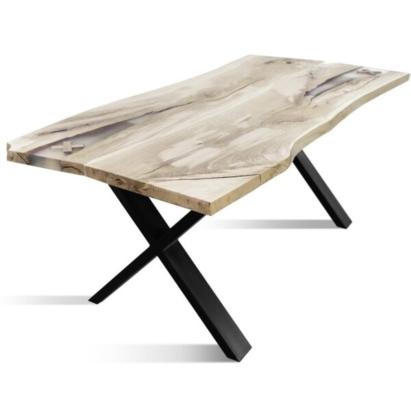 Delfina Urban Solid Wood Dining Table by Foundry Select Foundry Select