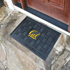 NCAA University of California - Berkeley Medallion Door Mat by FANMATS