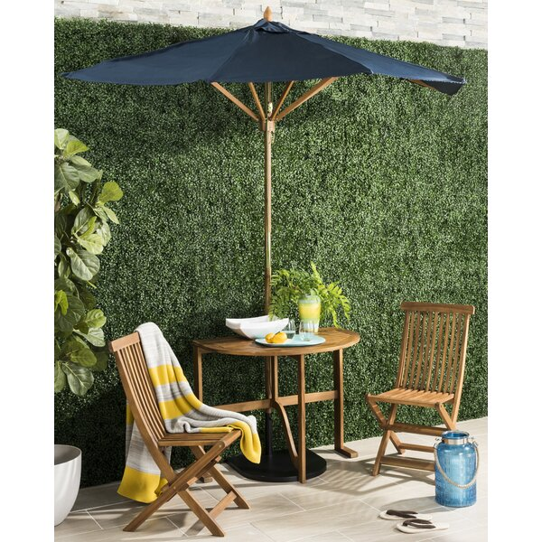 Southington 3 Piece Bistro Set with Umbrella by Andover Mills