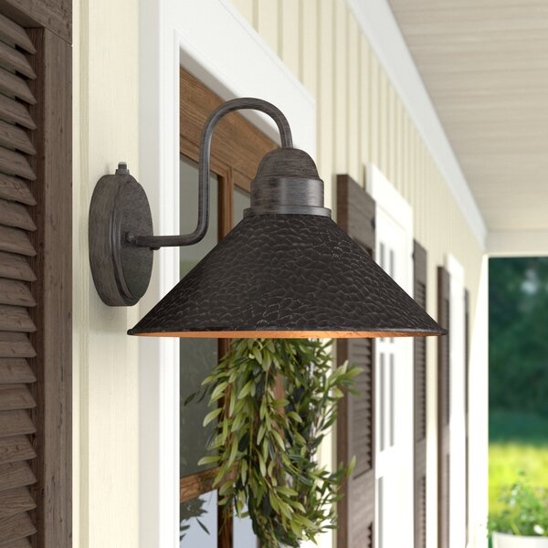 Zuleika Outdoor Barn Light by Laurel Foundry Modern Farmhouse