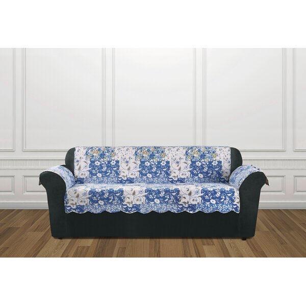 #1 Heirloom Box Cushion Sofa Slipcover By Sure Fit Amazing