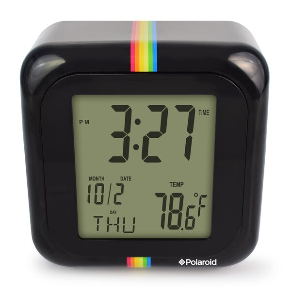 Desktop Digital Clock by Polaroid