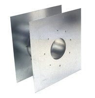 Z-Flex 3 Wide Adjustable Wall Thimbles by Eccotemp Systems LLC
