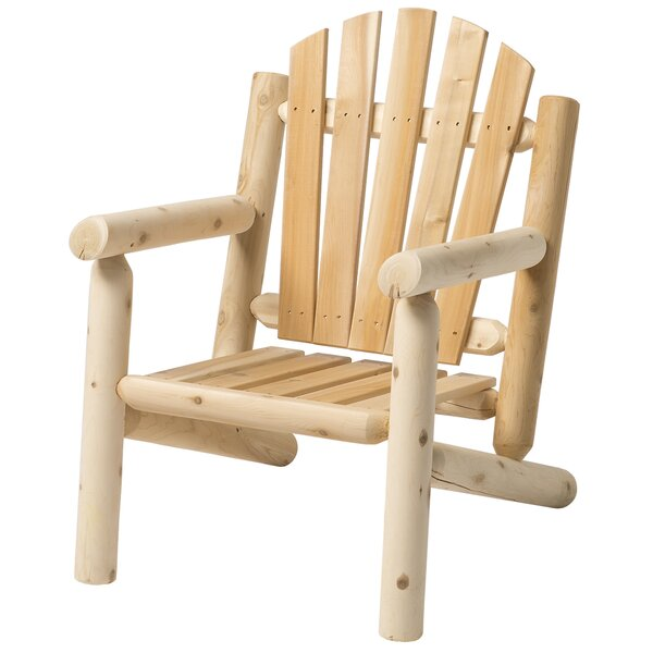 Hooper Solid Wood Adirondack Chair by Loon Peak
