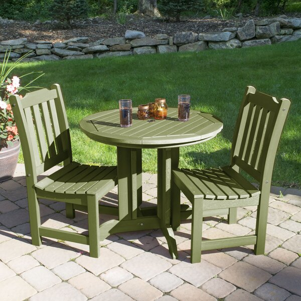 Cassell 3 Piece Dining Set by Three Posts