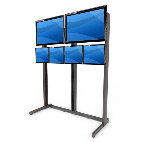 Multi-Monitor Floor Stand Mount for LCD/Plasma/LED by Best Mounting