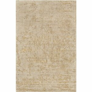 Zosia Hand-Tufted Tan/Beige Area Rug