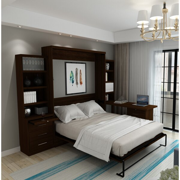 Munn Queen Murphy Bed by Brayden Studio