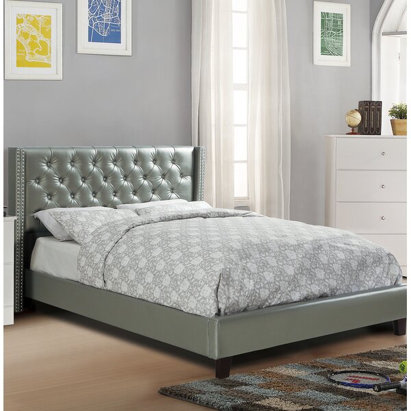 Lila Upholstered Platform Bed by Everly Quinn
