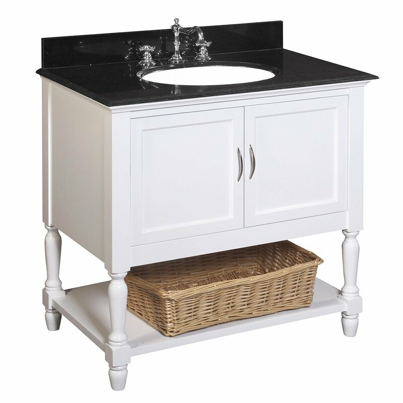 nautical kitchen cabinets kbc beverly 36 quot single bathroom vanity set amp reviews wayfair 1052