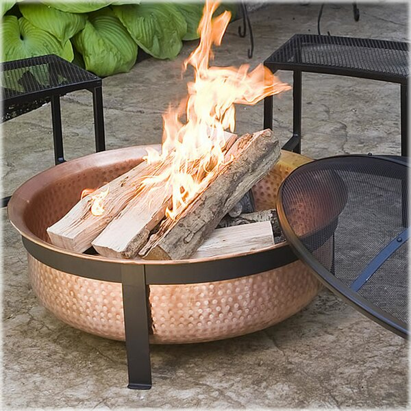 Copper Wood Burning Fire Pit by CobraCo