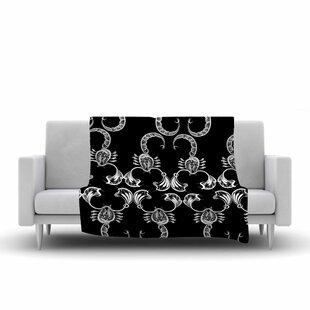 Big Save Maria Bazarova Scorpio Nature Fleece Blanket ByEast Urban Home