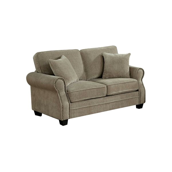 Best Reviews Of Robillard Transitional Loveseat by Charlton Home by Charlton Home