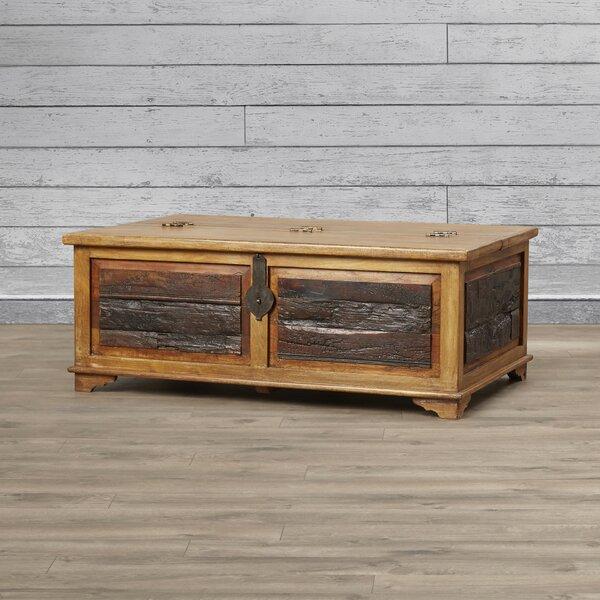 Bentonite Blanket Box / Trunk Coffee Table by Loon Peak