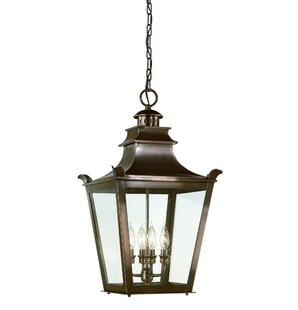 Affordable Price Annett 4-Light Outdoor Hanging Lantern By Darby Home Co