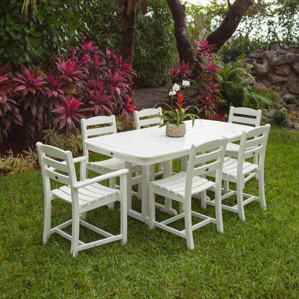 La Casa Café 7-Piece Dining Set by POLYWOOD®