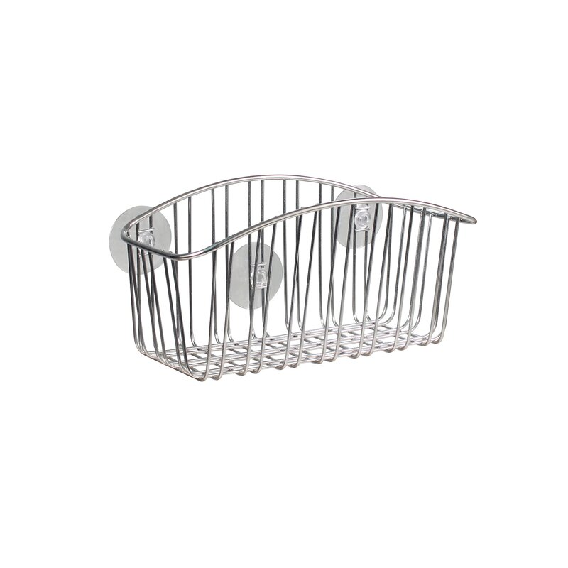 Contempo Stainless Steel Wall Mounted Shower Caddy