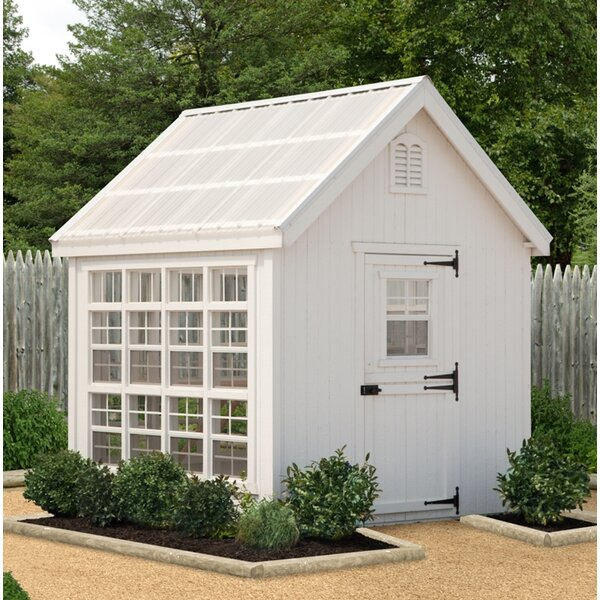 Colonial Gable 10 Ft. W x 12 Ft. D Greenhouse by Little Cottage Company