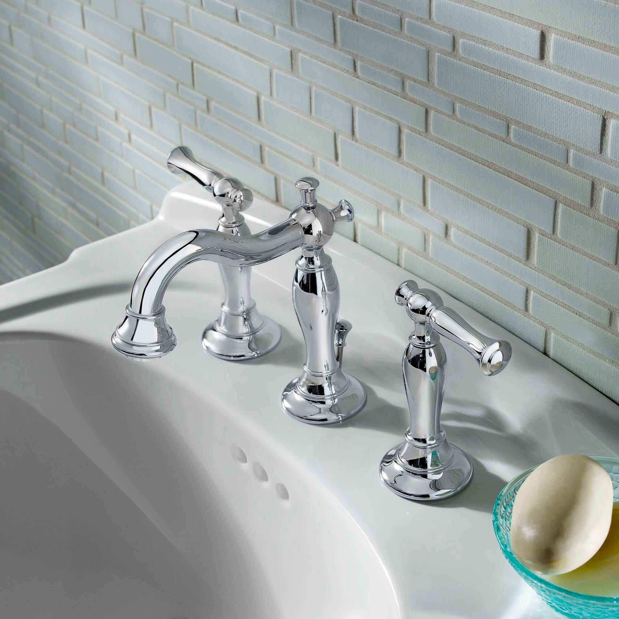 American Standard Quentin Widespread Bathroom Faucet Reviews Wayfair - Bathroom faucets louisville ky