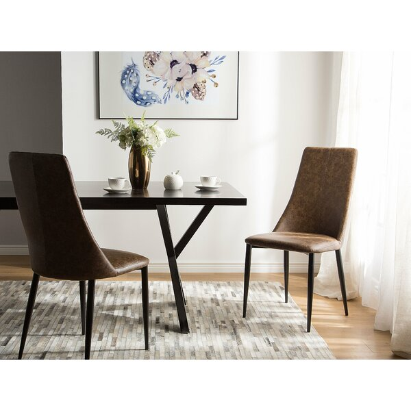 Speaks Upholstered Dining Chair (Set of 2) by Brayden Studio