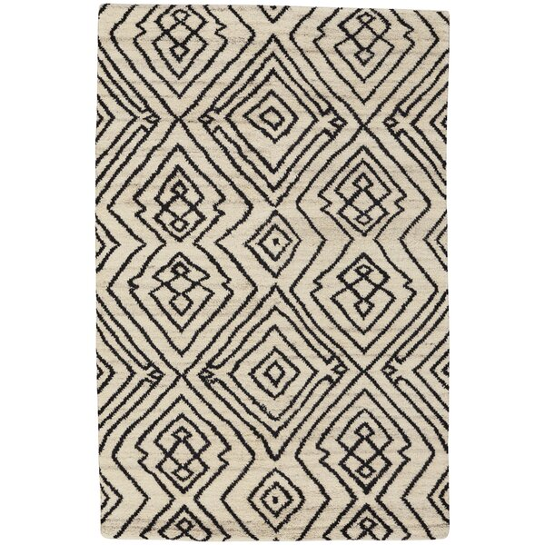 Fortress Hand-Knotted Ivory Area Rug by Capel Rugs
