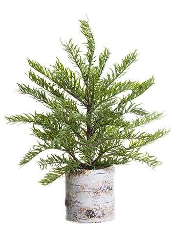 Desktop Cedar Tree in Pot by The Holiday Aisle
